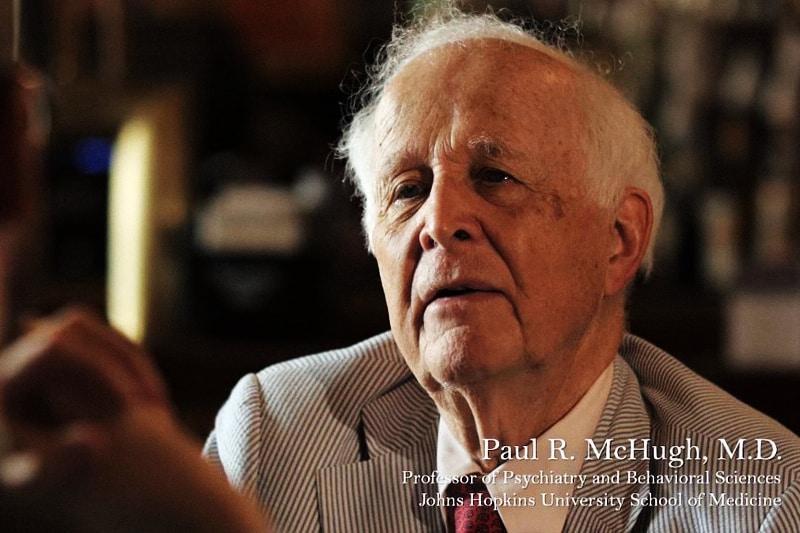 Paul-R.-McHugh, psichiatra presso la John Hopkins University