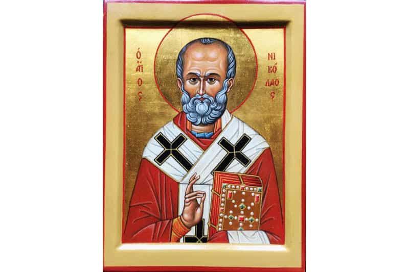 icona di San Nicola 800-533