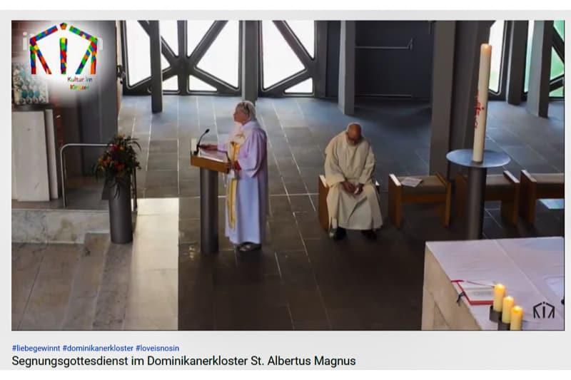 messa tedesca benedizione per tutti gli amanti 6 10 05 2021