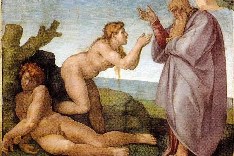 Michelangelo, la Creazione di Eva