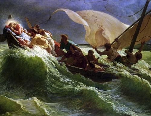 """""""Quei pochi che sono rimasti con Lui sulla piccola barca, lo vedranno presto riacquistare il potere visibile su tutto"""""""