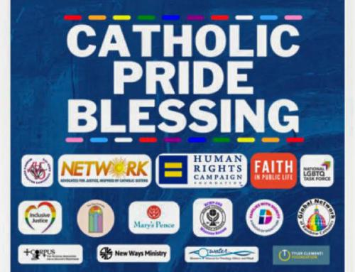 """Il vescovo Stowe partecipa all'evento del mese dell'orgoglio dei dissidenti cattolici LGBT+  tra """"benedizioni"""" miste"""