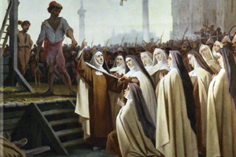 carmelitane ghigliottinate di Compiègne, beatificata da San Pio X
