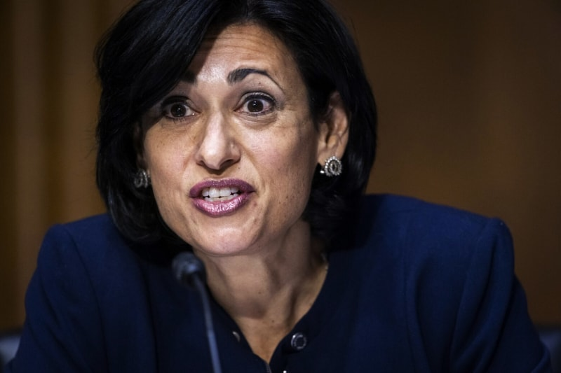 Rochelle Walensky , direttrice dei CDC