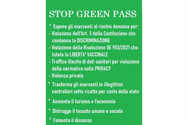 Stop-green-pass