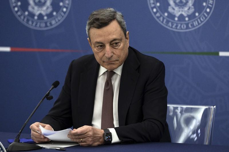 Mario Draghi, conferenza stampa 22.07.2021