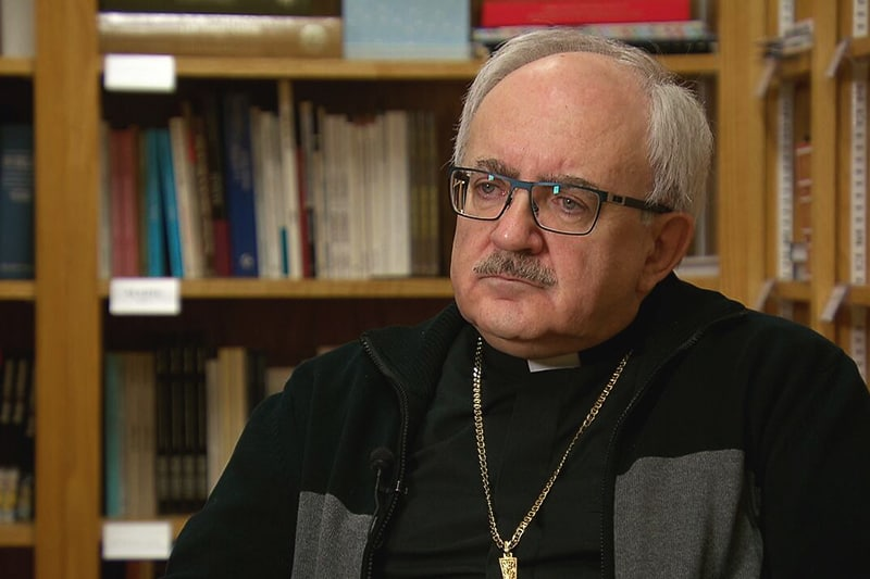 Mons. Valery Vienneau, arcivescovo di Moncton, Canada
