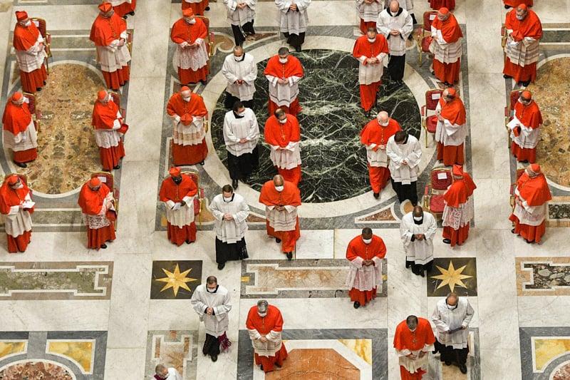 Cardinali, foto Romano Siciliani - Vatican Media