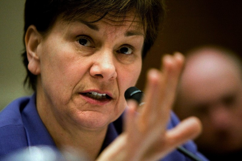 Janet Woodcock, presidente ad interim della FDA (BLOOMBERG NEWS)