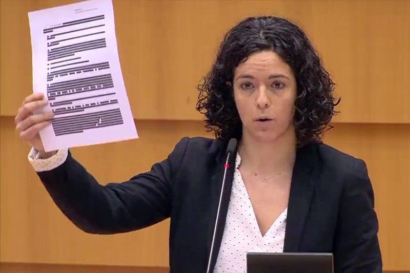 Manon Aubry, deputata al Parlamento europeo