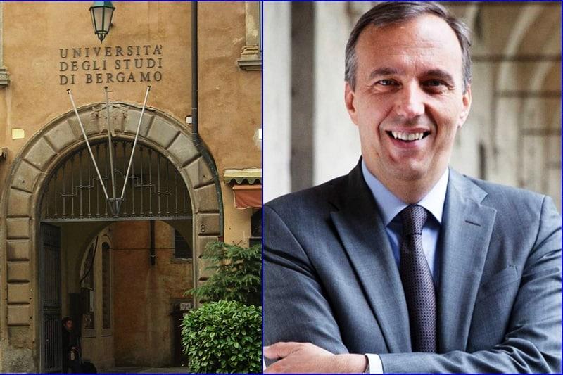 Remo Morzenti Pellegrini Magnifico Rettore università di Bergamo