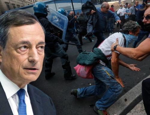 Draghi annuncia la stretta sulle manifestazioni: ennesimo diritto violato