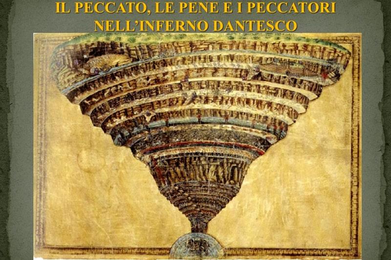 Sandro Botticelli La voragine infernale.